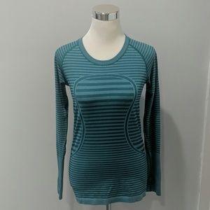 ⚙️Lululemon | Swifty Tech long sleeve green size 8